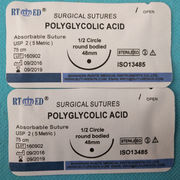 China Synthetic Absorbable Surgical Polyglactin, 910 Sutures with Needle