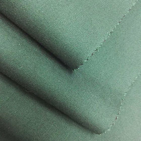 Wholesale green woven denim fabric from  Ningbo Nanyan Import & Export Co. Ltd