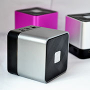 China Bluetooth Speaker with Speak Phone, Built-out Nokia Size Battery/Supports TF-card/FM/Stainless Steel
