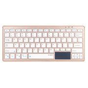 Bluetooth/2.4G wireless touch pad keyboard from  Shenzhen DZH Industrial Co. Ltd