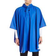 Men's long poncho from  Fuzhou H&f Garment Co.,LTD