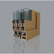 China Sliding window profile with good insulated thermal and energy-saving effect