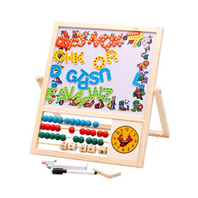 Kids wooden education board from  Wenzhou Times Co. Ltd
