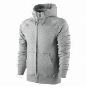 Men's zip hoodies from  Fuzhou H&f Garment Co.,LTD