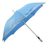 Aluminum alloy rods super light blue sky white clouds advertising umbrella