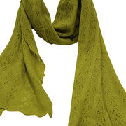 Cashmere fashion knit scarf from  Inner Mongolia Shandan Cashmere Products Co.Ltd