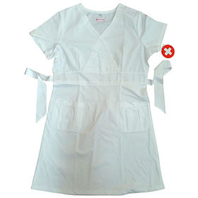 Printed medical scrub top from  Changshu Kingtex Import And Export Co.Ltd
