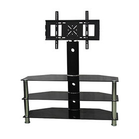 MDF LCD glass living room TV stand from  Zhilang Furniture Co.,Ltd