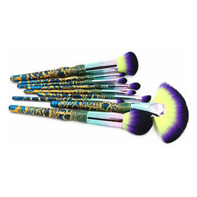 9pc Makeup Brush Set from  Shenzhen Rejolly Cosmetic Tools Co., Ltd.