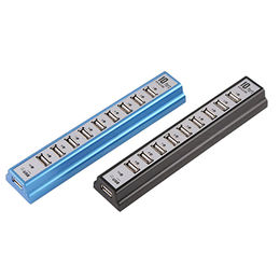 10-ports USB 2.0 Hi-speed Multi Hub from  Elandphone Electronic Co. Ltd