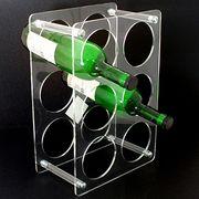 Bottle display rack from  Dalco H.J. Co Ltd
