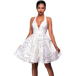 White Jacquard Dress from  Nan'an City Shiying Sexy Lingerie Co. Ltd