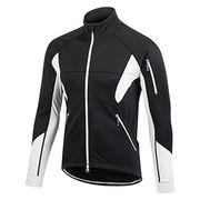 Men's cycling softshell jackets from  Fuzhou H&f Garment Co.,LTD