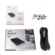 China Ultra Slim USB 3.0 to 2.5-inch SATA External Hard Drive Enclosure