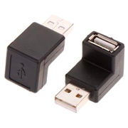 USB 2.0 A female to Micro 5Pin male adaptor from  Changzhou Sun-Rise Electronic Co.Ltd