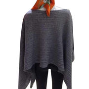 Cashmere draw string shawl from  Inner Mongolia Shandan Cashmere Products Co.Ltd