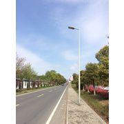 China 6m-15m Galvanized Street Light Pole with LED Lamps