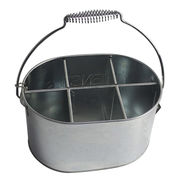 BBQ Accessory Galvanized Metal Utensils Bucket from  WHOLEWIN INDUSTRIAL CO.,LTD.