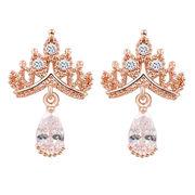 Fashion cubic zirconia hoop earrings from  HK Yida Accessories Co. Ltd