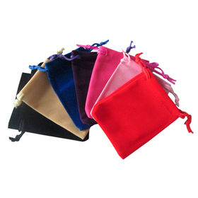 New Arrival Velvet Drawstring Bags from  Chanch Accessories International Co. Ltd