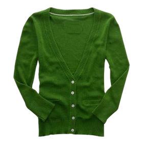Ladies' cardigans from  Qingdao Classic Landy Garments Co. Ltd