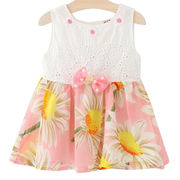Girls' cotton sleeveless dresses from  Meimei Fashion Garment Co. Ltd
