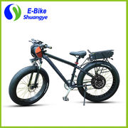 China 26*4.0 inch 48V 1000W strong power electric fat bike