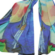Cashmere digital printed scarves from  Inner Mongolia Shandan Cashmere Products Co.Ltd