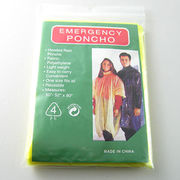 Emergency Poncho from  NINGBO SINCERECARE IMPORT AND EXPORT CO.,LTD