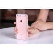 China Transparent Sticky Case for iPhone, Black Side, TPU Bumper, Full Protection