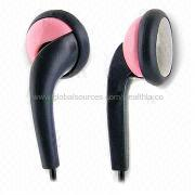 Stereo earphones from  Wealthland (Audio) Limited