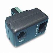 ADSL Pots Micro-filter from  Dongguan Fuxin Electronics Co Ltd