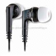 Promotional earbuds from  Wealthland (Audio) Limited