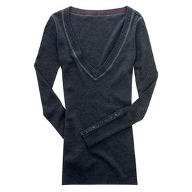 Ladies' sweater from  Qingdao Classic Landy Garments Co. Ltd