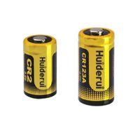 China Cr123a - 3V Lithium cylindrical battery, 1,600mAh capacity