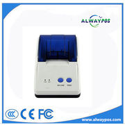 China 2-inch Mini Desktop Thermal Printer with USB/Serial/Parallel Interface