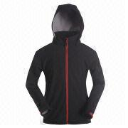 Women's Softshell Jacket from  Fuzhou H&f Garment Co.,LTD