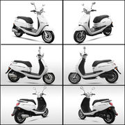 China New Euro 4 scooter with EEC homologation