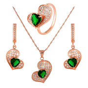 Fashionable Pendant/Earrings and Ring Sets from  Chanch Accessories International Co. Ltd