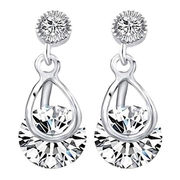 Fashion crystal earrings from  HK Yida Accessories Co. Ltd
