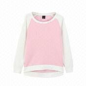 Hot sales women's crew neck pullovers from  Fuzhou H&f Garment Co.,LTD