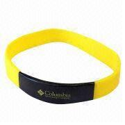 Silicone wristband from  Wenzhou Start Co. Ltd