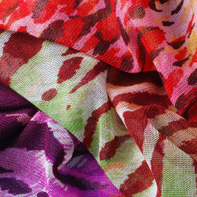 Dye Stuff Printed Tricot Mesh Fabric from  Lee Yaw Textile Co Ltd