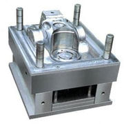 China Plastic injection molds, two shot molds, co mold, over mold