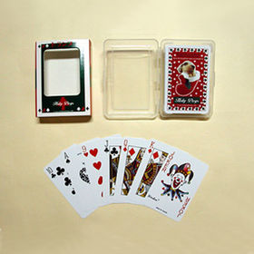 100% Plastic Playing Cards from  Kinlux Industrial Corporation