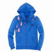 Women's zip hoodies from  Fuzhou H&f Garment Co.,LTD
