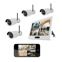 HD 720P Out-door Security camera CCTV kits DVR/NVR from  Shenzhen Gospell Smarthome Electronic Co. Ltd