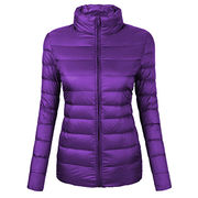 Foldable duck down women's jacket from  Fuzhou H&f Garment Co.,LTD