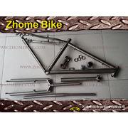 China Bicycle Parts, Titanium 3AL2.5V & 6AL4V Bike Frame, Bicycle Frame and Fork