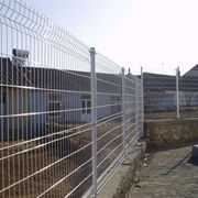 China ISO-certified high-quality galvanized + PVC-coated 3D welded wire mesh fence